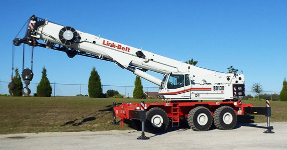 130 Ton Link-Belt RTC 80130 Series II - rhodes-crane